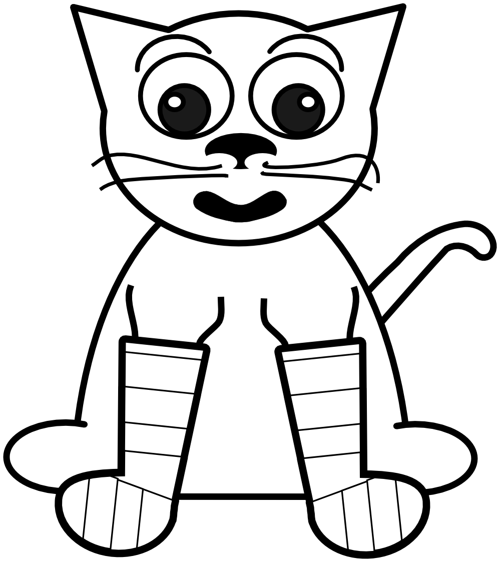 rainbow cat coloring page clipart panda free clipart images cat rainbow page coloring
