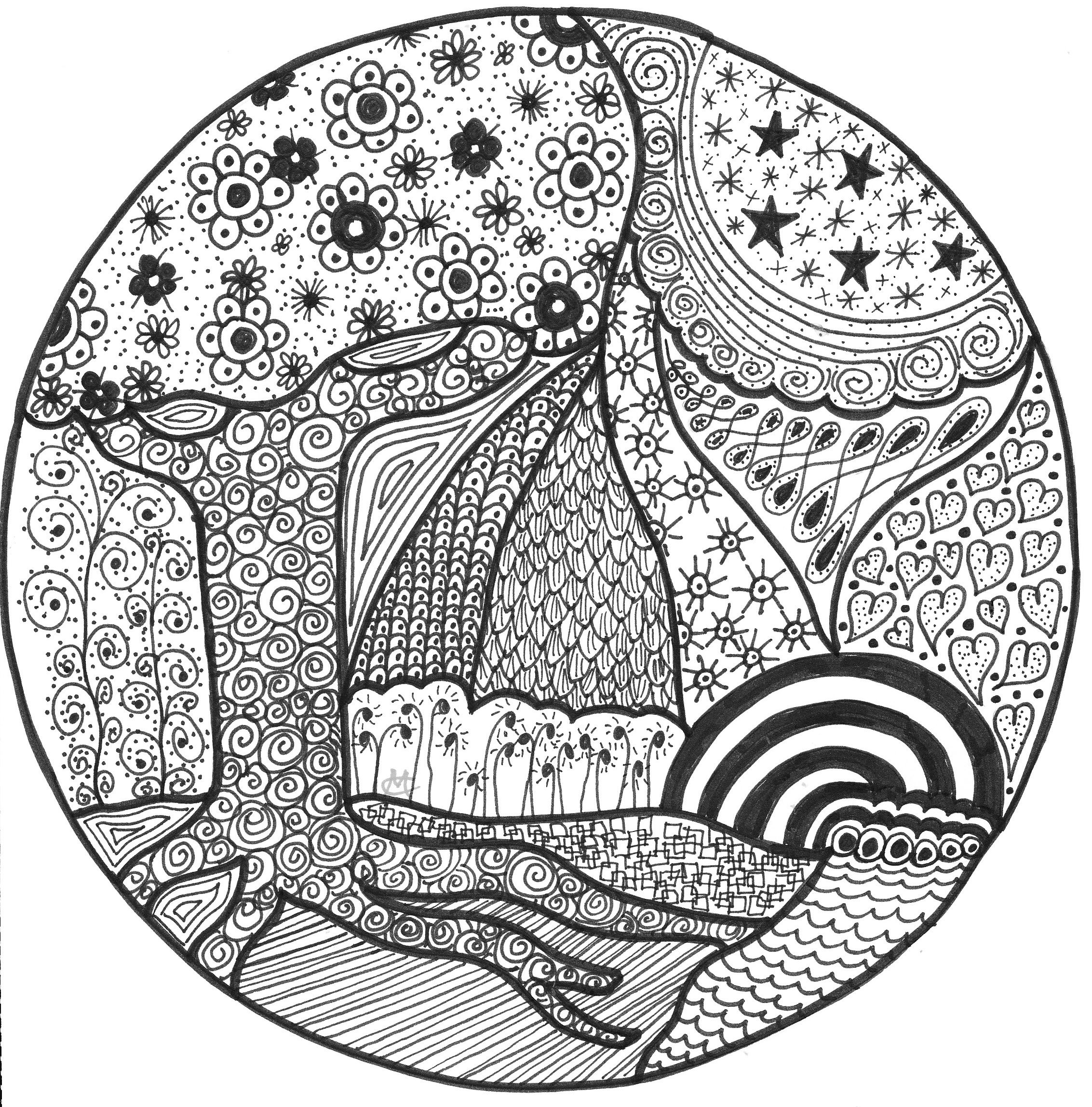 rainbow cat coloring page rainbow an original artwork by cat magness with images cat coloring rainbow page