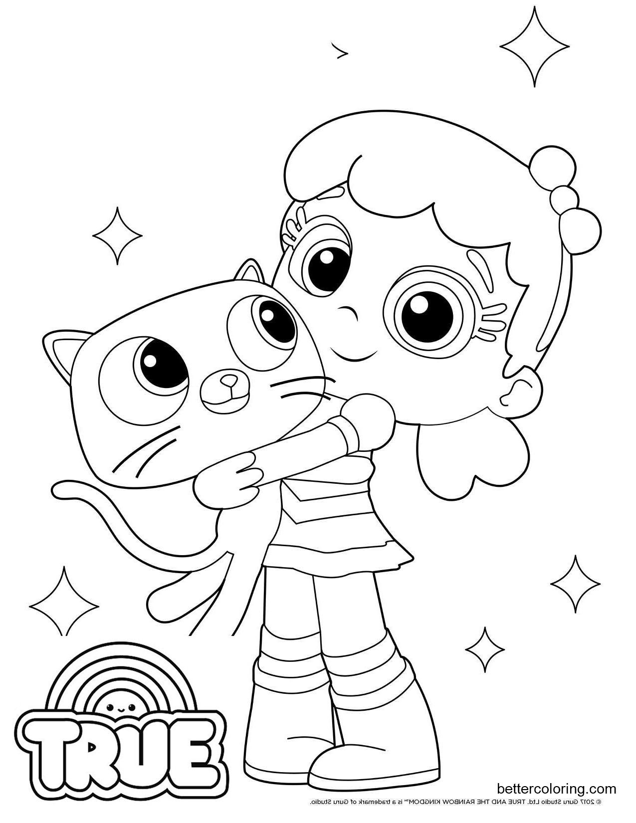 rainbow kingdom coloring pages 15 free printable true and the rainbow kingdom coloring pages rainbow pages kingdom coloring