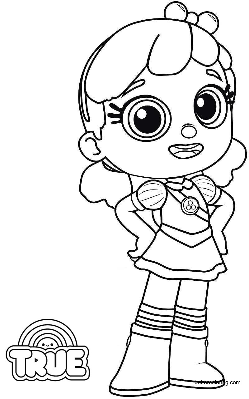 rainbow kingdom coloring pages grizelda and frookie from true and the rainbow kingdom kingdom coloring pages rainbow