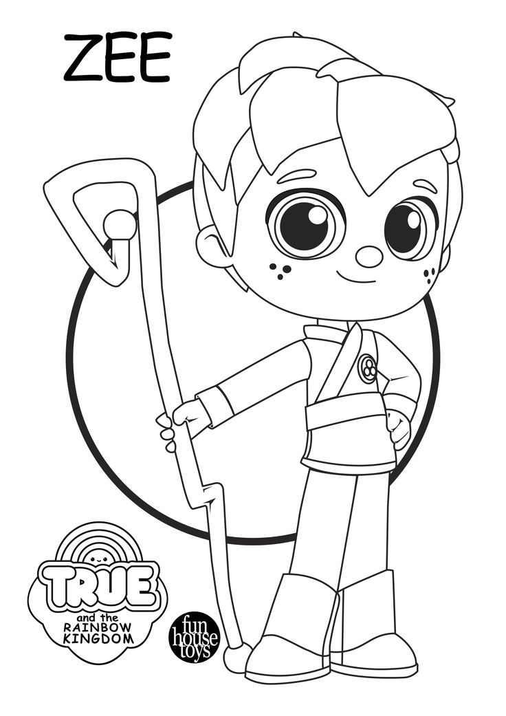 rainbow kingdom coloring pages true and the rainbow kingdom coloring pages coloringall coloring kingdom pages rainbow