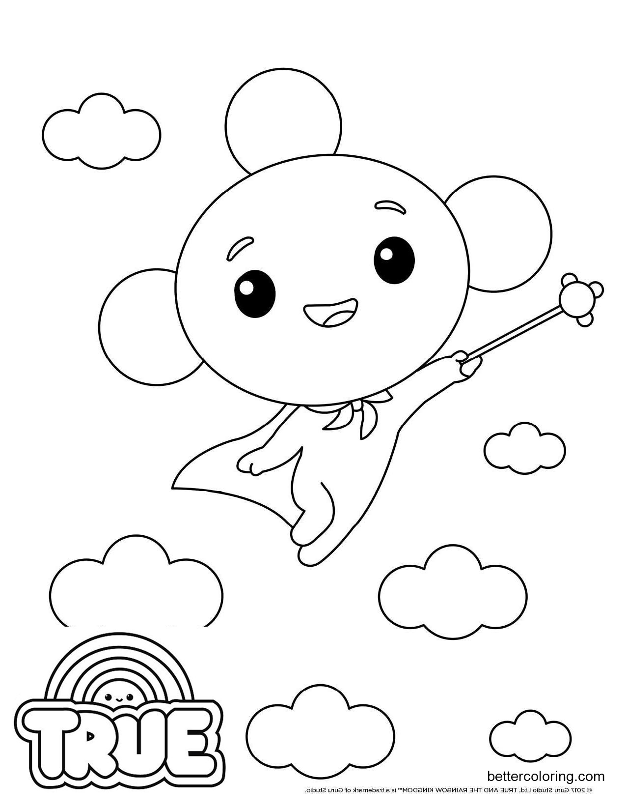 rainbow kingdom coloring pages true and the rainbow kingdom printables 7 coloring pages rainbow coloring kingdom pages