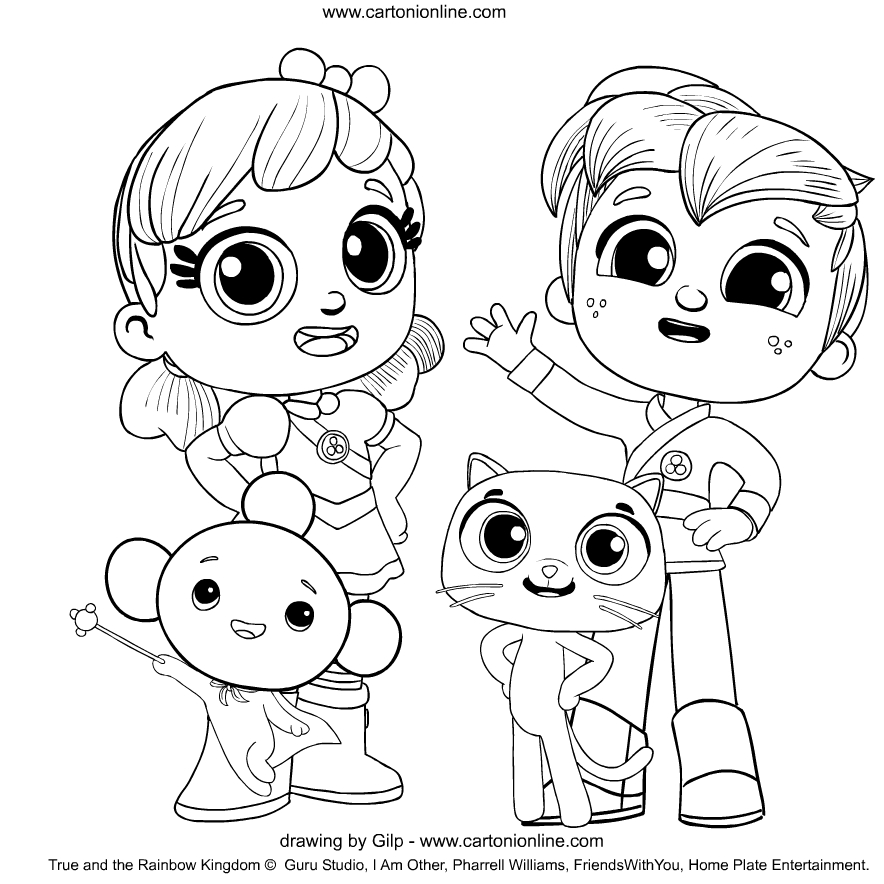 rainbow kingdom coloring pages true and the rainbow kingdom true and bartleby colouring pages coloring rainbow kingdom
