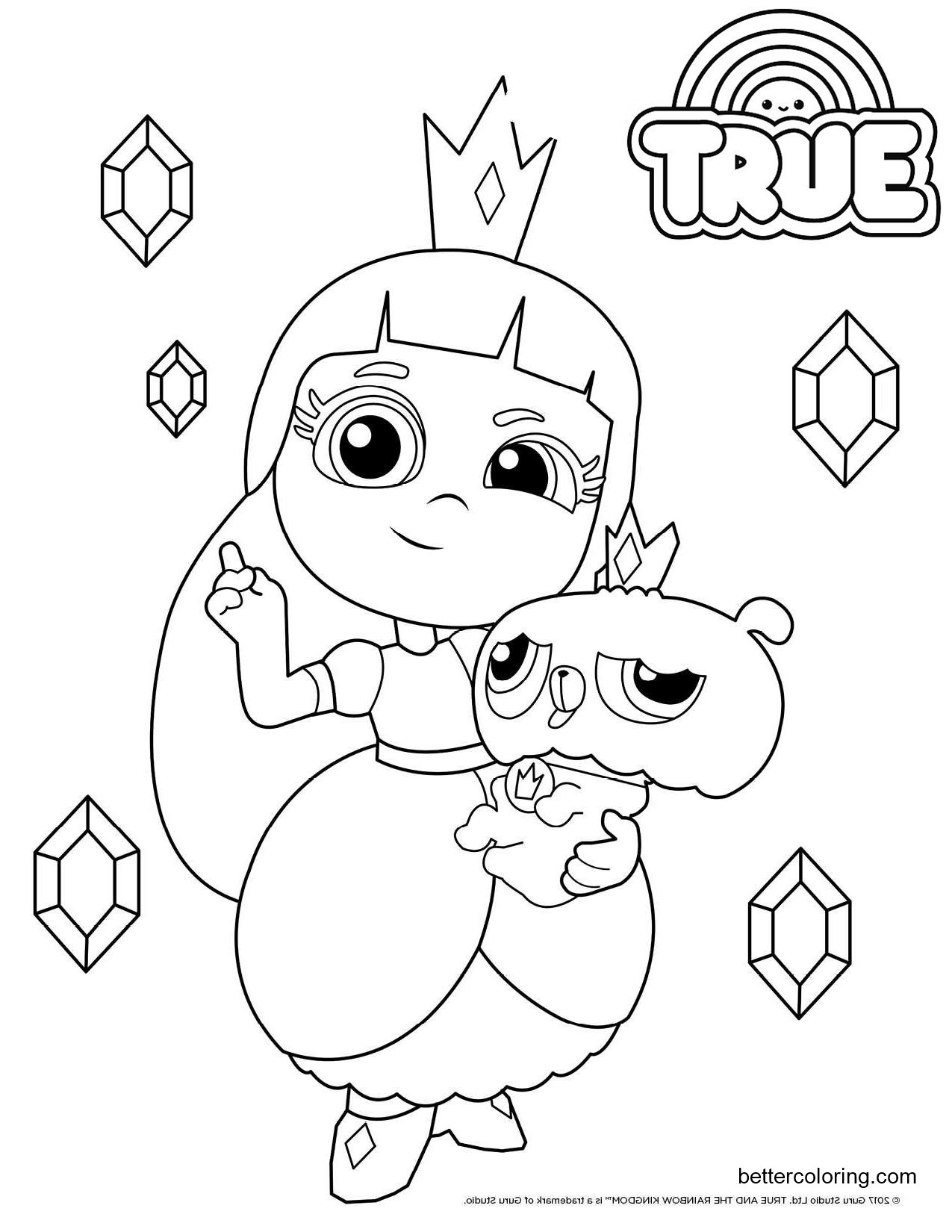 rainbow kingdom coloring pages true rainbow kingdom coloring pages kidsworksheetfun coloring kingdom rainbow pages