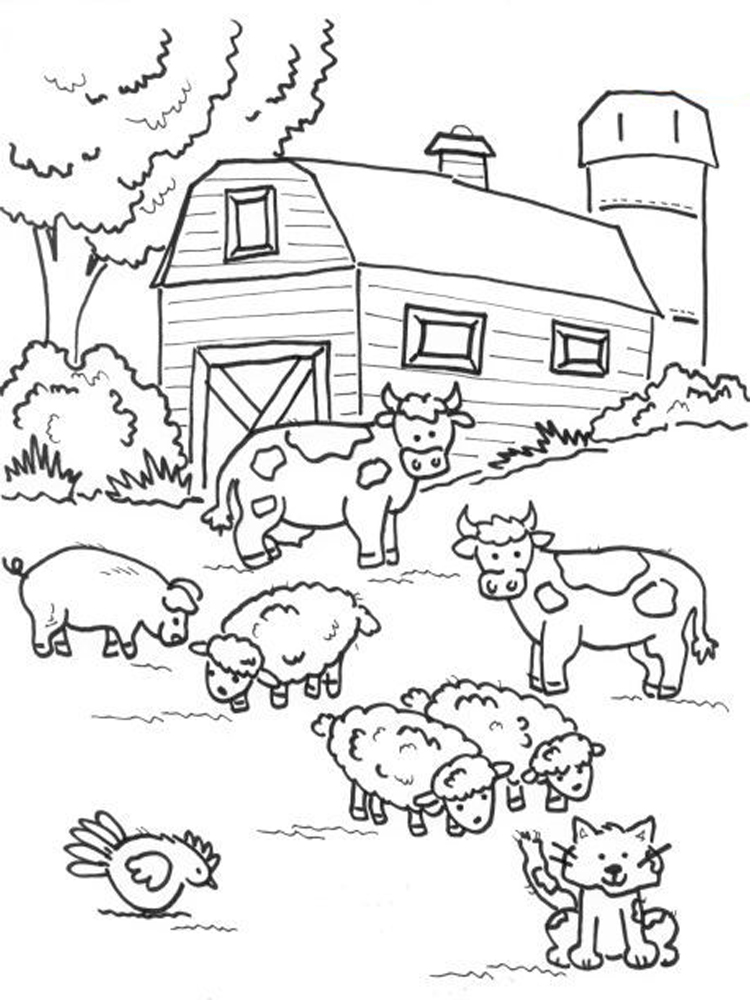 ranch coloring pages barn for keeping farm products coloring page coloring sky coloring pages ranch