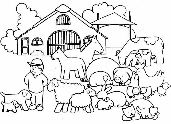 ranch coloring pages farm coloring pages to download and print for free pages coloring ranch