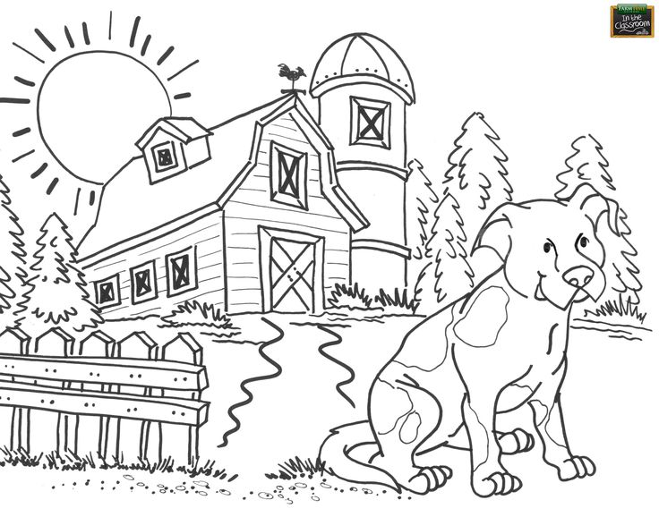 ranch coloring pages farm coloring pages to download and print for free pages ranch coloring