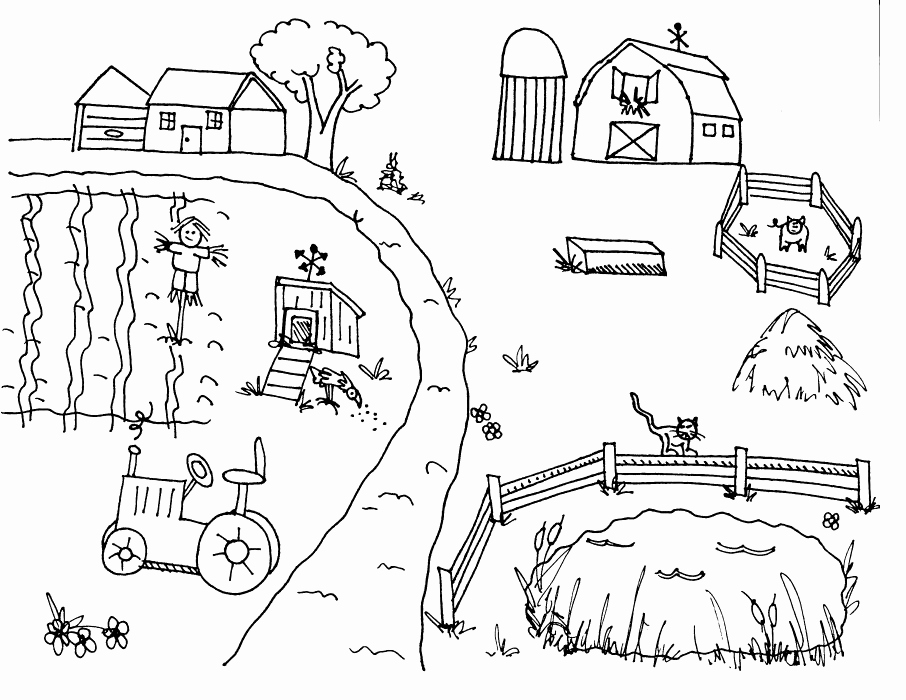 ranch coloring pages realistic farm animal coloring pages at getcoloringscom pages ranch coloring