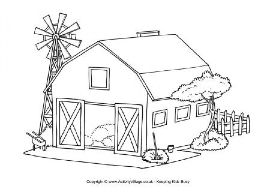 ranch coloring pages ukg coloring pages learny kids coloring pages ranch