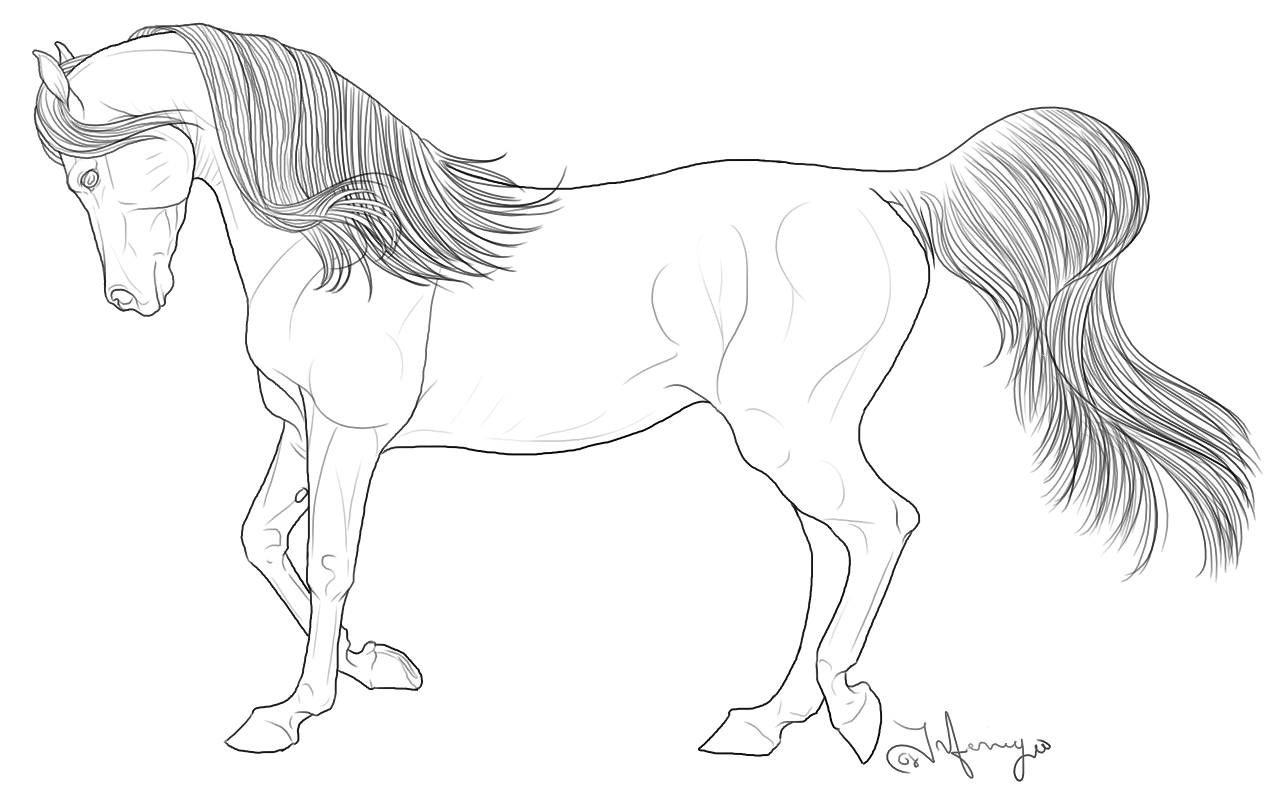 realistic horse coloring pages free horse coloring pages coloring realistic horse pages