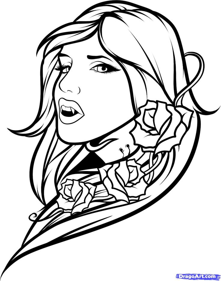 realistic printable vampire coloring pages 30 free printable vampire coloring pages pages realistic vampire coloring printable