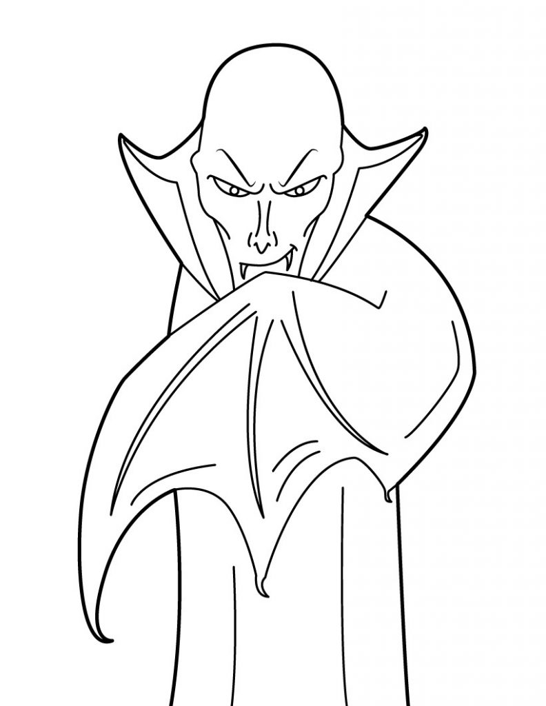 realistic printable vampire coloring pages 30 free printable vampire coloring pages vampire realistic coloring printable pages