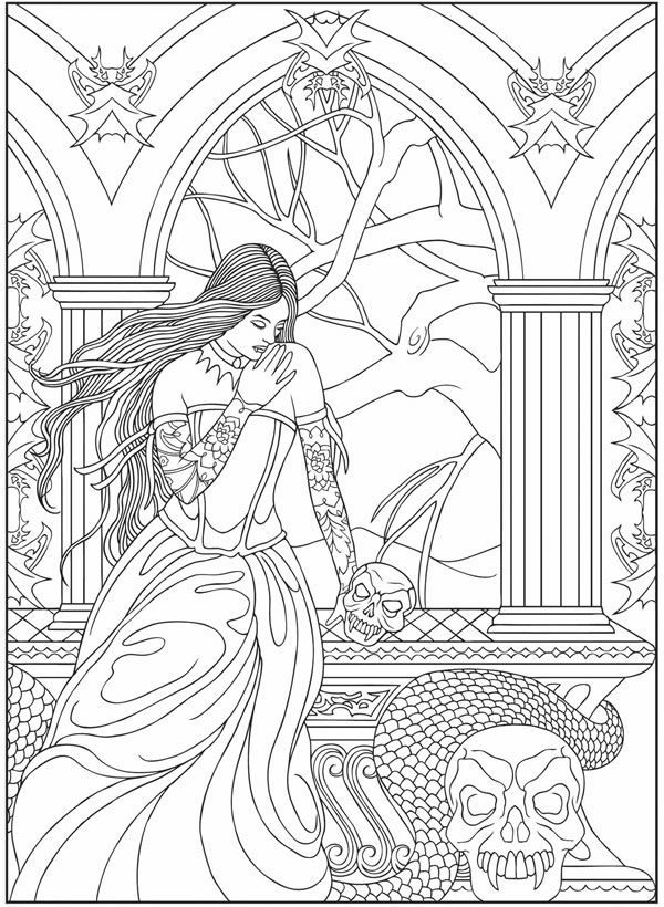realistic printable vampire coloring pages free vampire coloring pages to print vampire realistic printable coloring pages