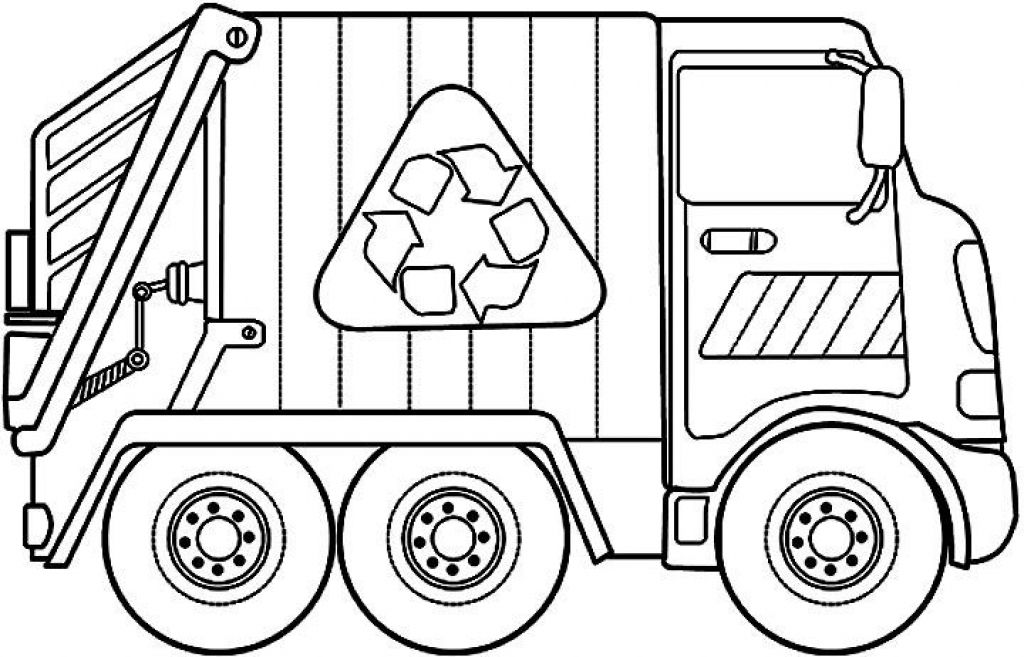 recycling truck coloring page garbage truck coloring pages coloring pages to download coloring truck page recycling