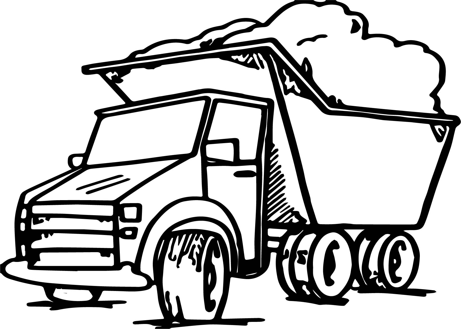 recycling truck coloring page garbage truck coloring pages for kids grbtrck garbage page coloring truck recycling
