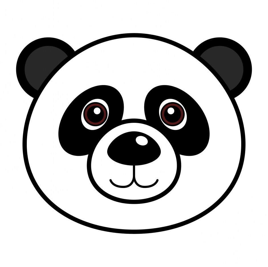 red panda face coloring page easy panda coloring pages coloring panda red face page