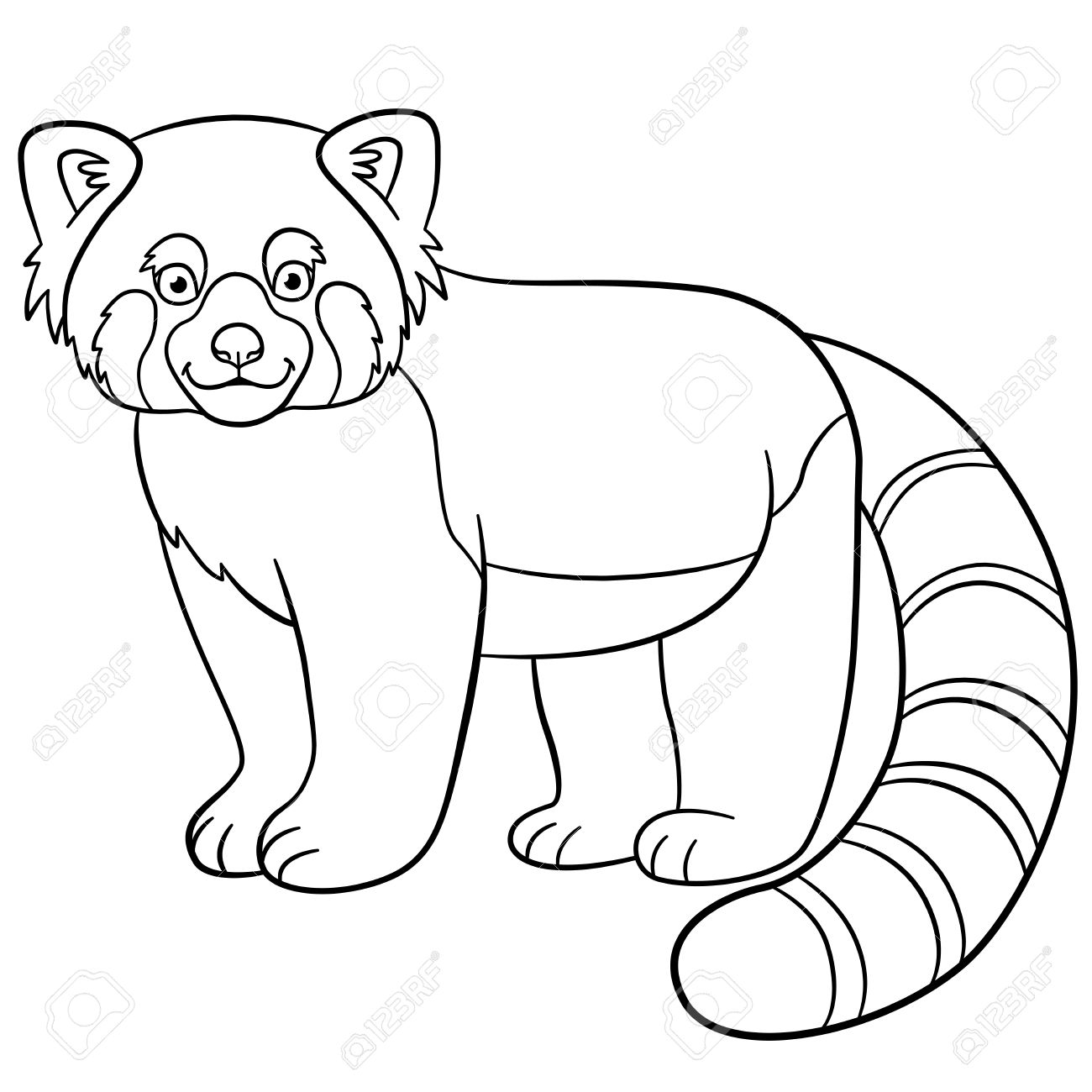 red panda face coloring page free printable panda coloring pages for kids panda coloring page red face
