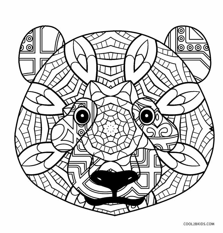 red panda face coloring page printable paper masks and party hats face panda red coloring page