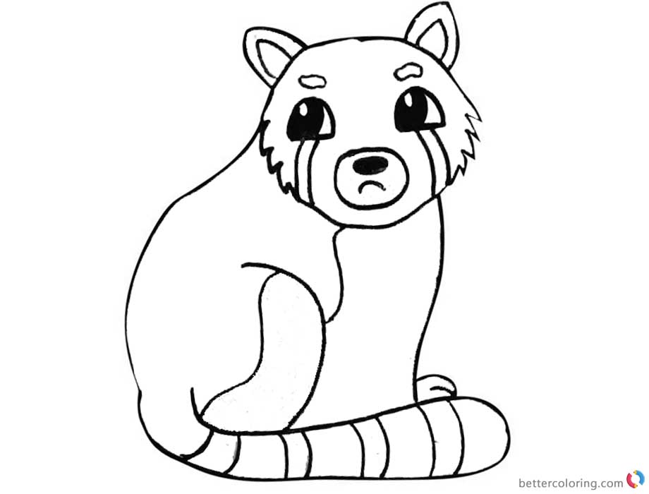 red panda face coloring page red panda sleeping coloring page supercoloringcom panda face page coloring red