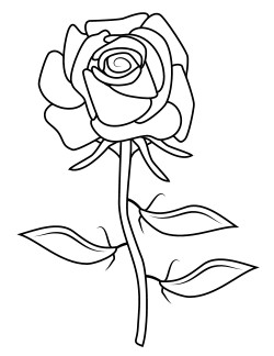 red rose rose coloring pages free printable rose coloring pages rose coloring pictures rose pages red coloring rose