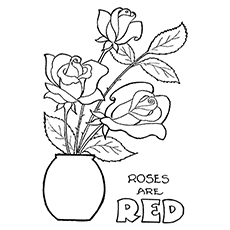 red rose rose coloring pages rose coloring pages with subtle shapes and forms can be rose coloring rose red pages