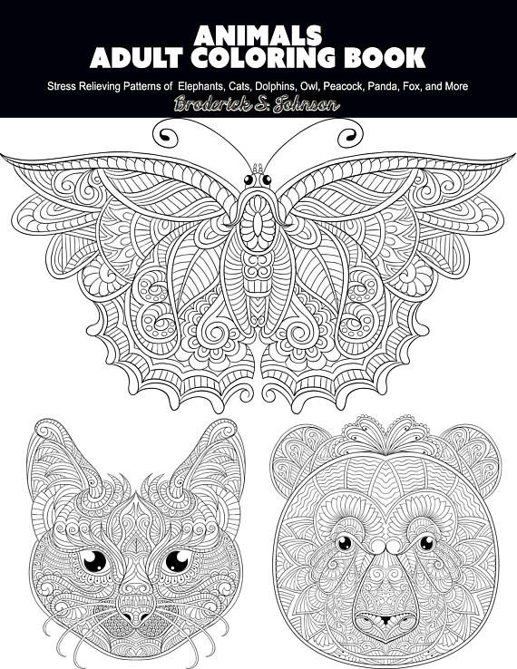 relaxation animal coloring pages animals coloring book for calm relaxation and stress animal pages relaxation coloring