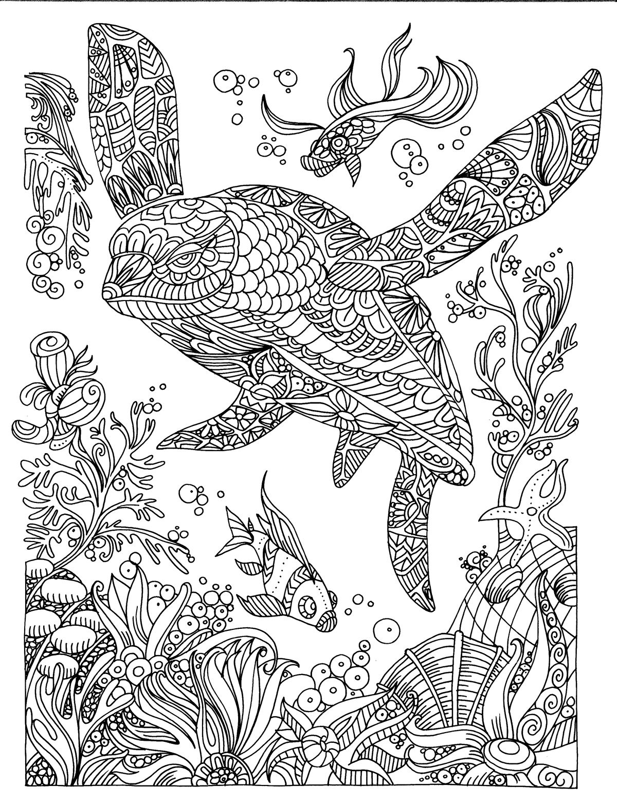 relaxation animal coloring pages turtle illustration colouring page mandalas zentangle coloring pages animal relaxation
