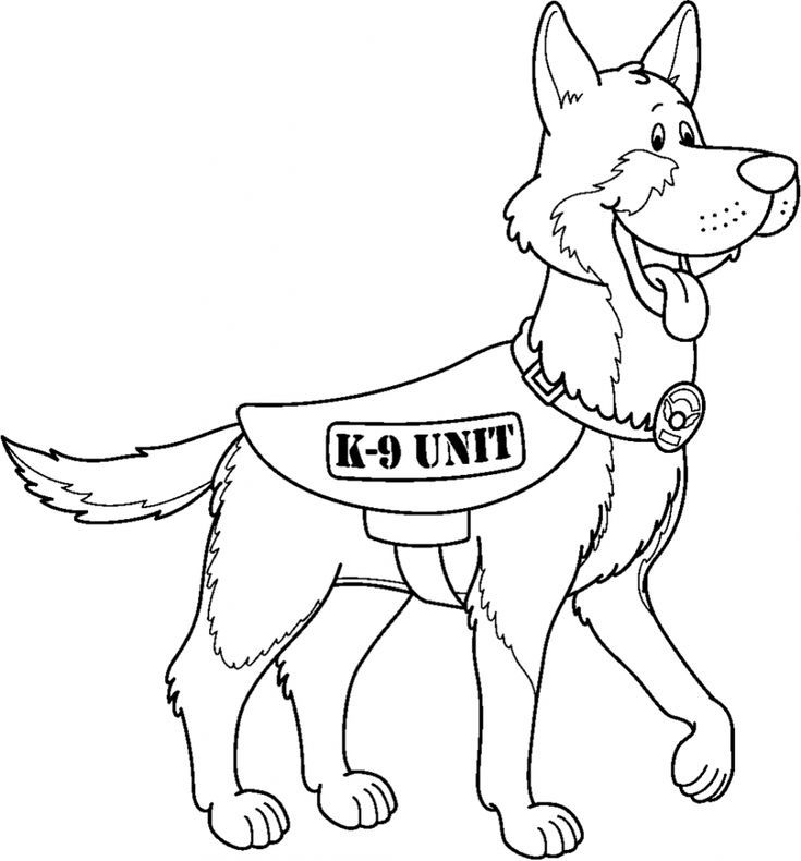 rescue dog coloring pages already colored german shepherd coloring pages best rescue coloring pages dog