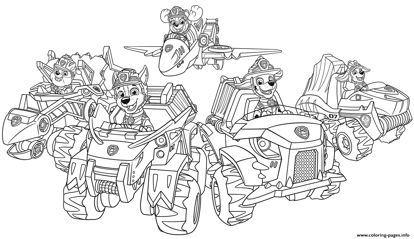 rescue dog coloring pages paw patrol pups from dino rescue coloring pages printable rescue dog coloring pages