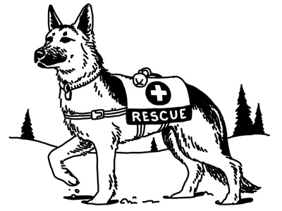 rescue dog coloring pages rescue dog 2 by steve lowtwait on dribbble pages rescue coloring dog