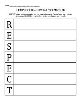 respect acrostic poem fitness motivation inspiration love it stay positive and acrostic poem respect