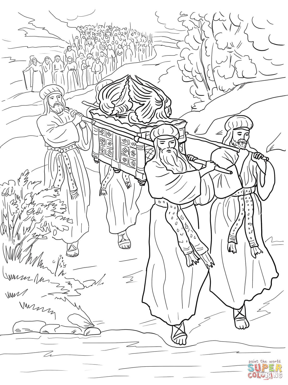 river coloring pages printable crossing jordan river coloring page sundayschoolist printable river pages coloring