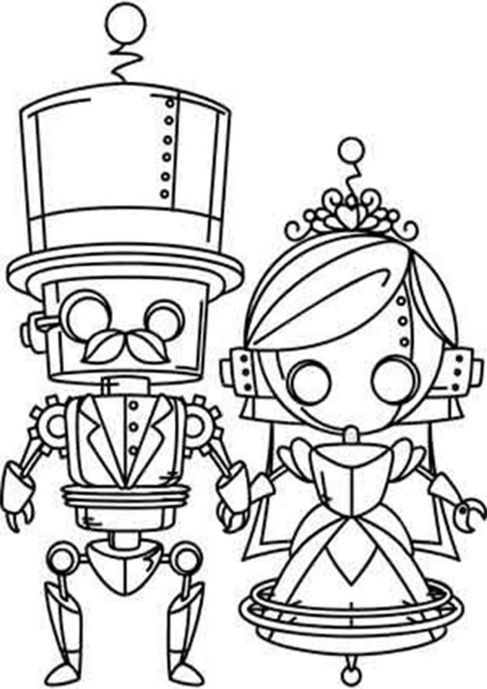 robot pictures to print from future robots coloring pages and robot craft ideas robot to print pictures