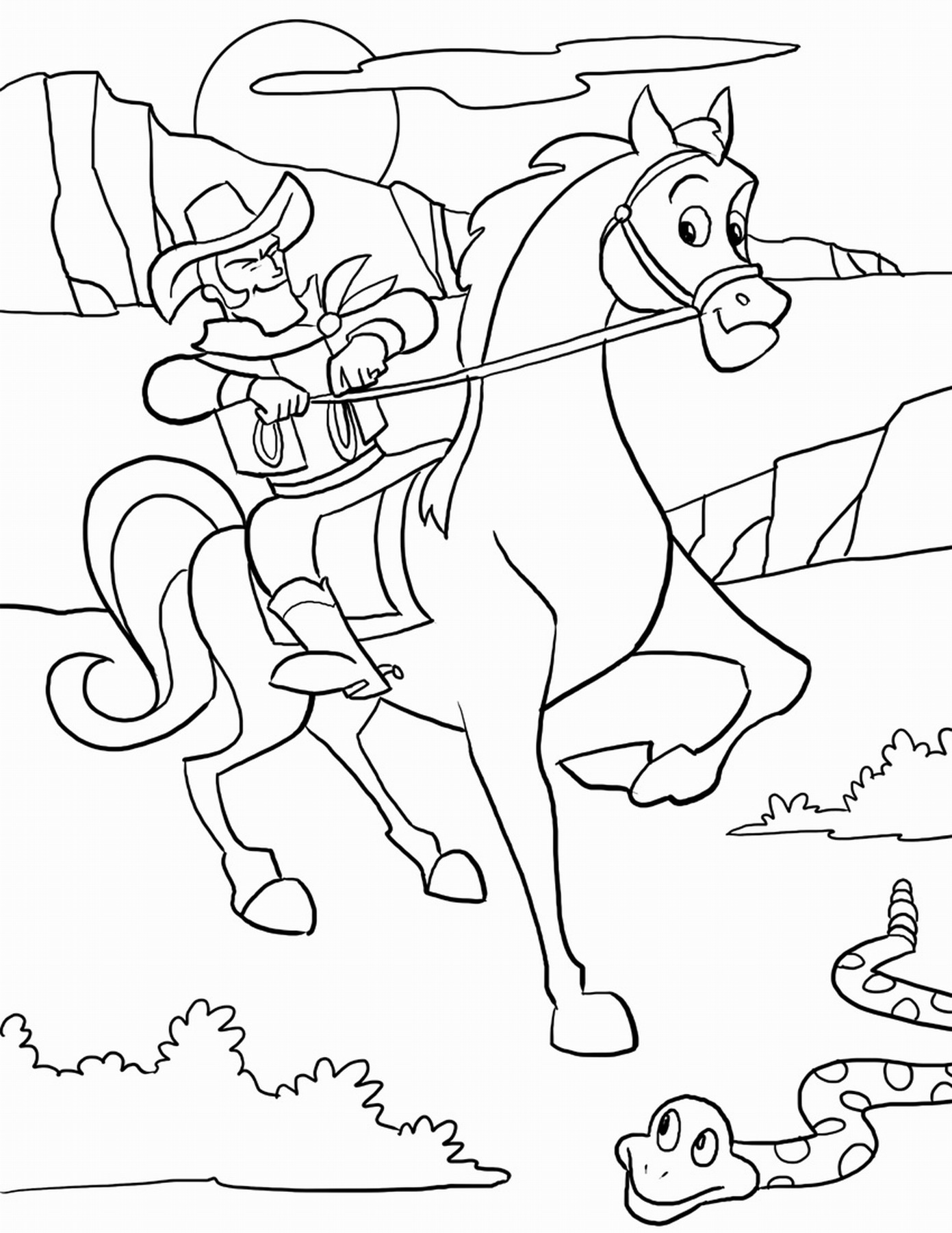 rodeo coloring pages cowboy coloring pages coloring pages rodeo