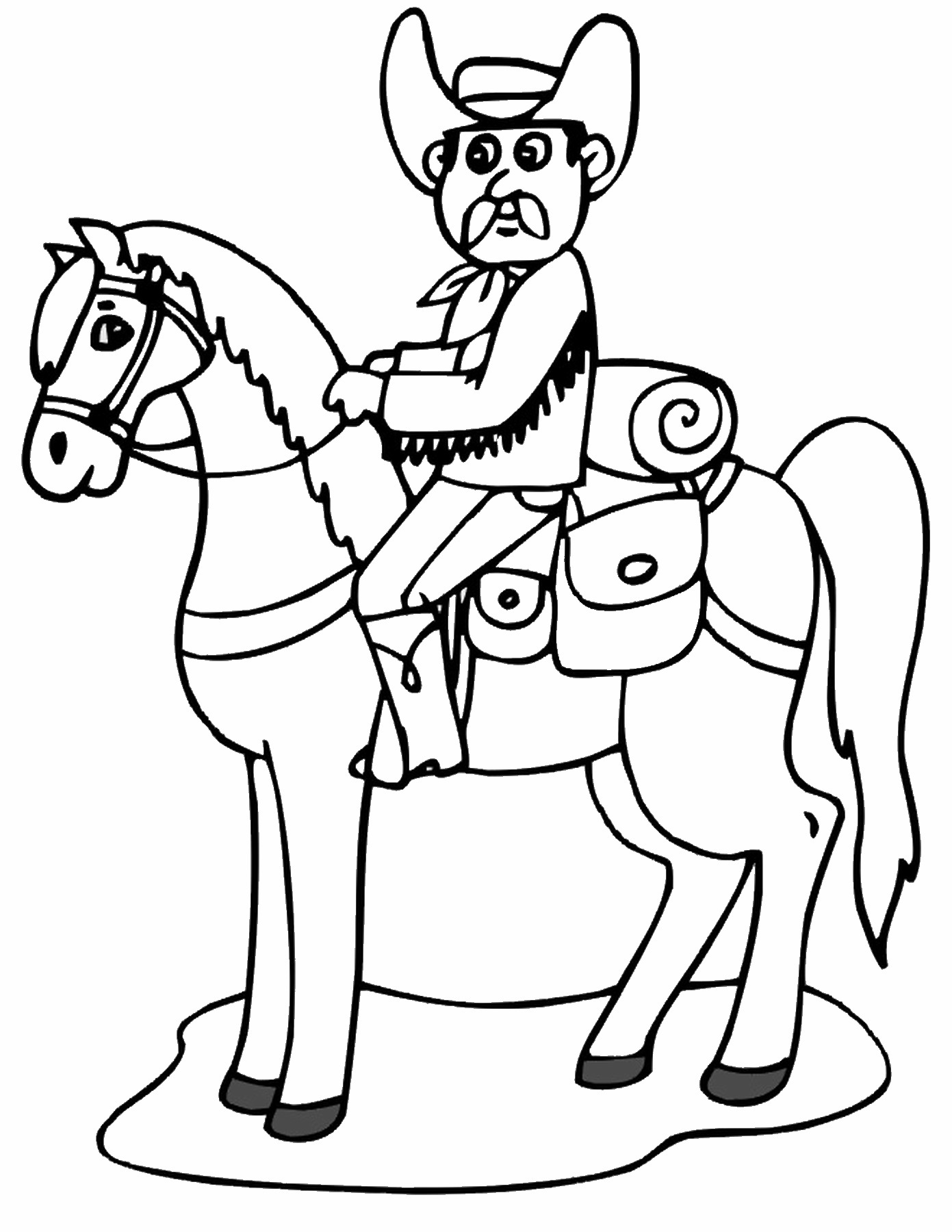 rodeo coloring pages cowboy coloring pages pages coloring rodeo