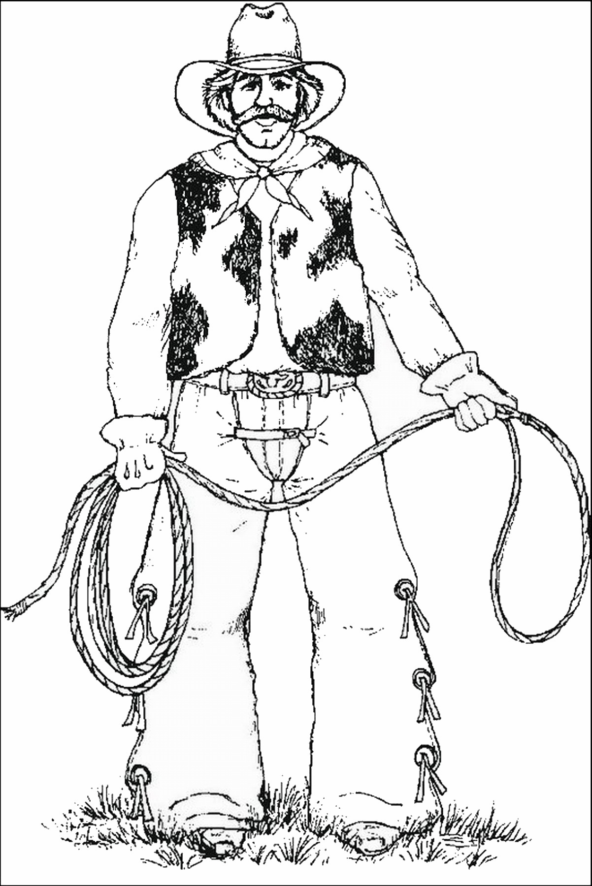 rodeo coloring pages cowboy coloring pages rodeo coloring pages
