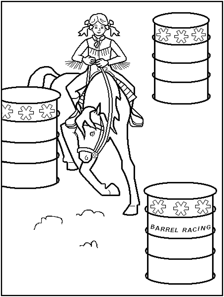rodeo coloring pages rodeo coloring page coloring home coloring rodeo pages