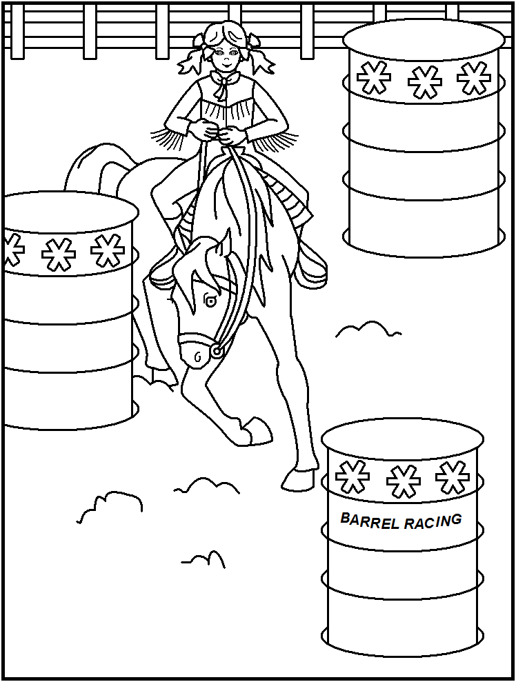 rodeo coloring pages rodeo coloring page coloring home coloring rodeo pages 1 1