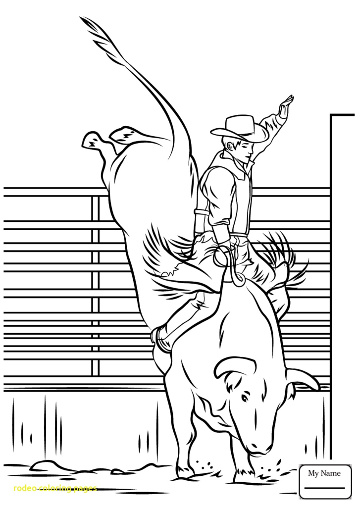 rodeo coloring pages rodeo coloring pages at getcoloringscom free printable coloring rodeo pages