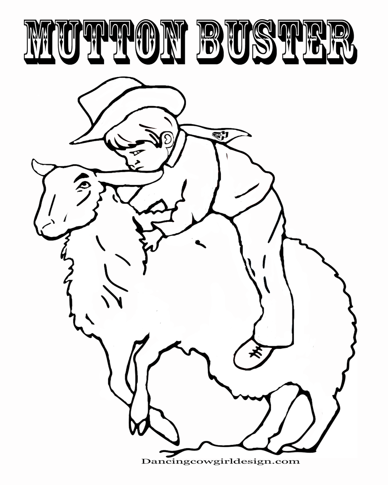 rodeo coloring pages rodeo coloring pages cowboy coloring sheet kid mutton bustin39 coloring pages rodeo