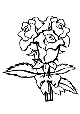 roses coloring rose colouring page coloring roses