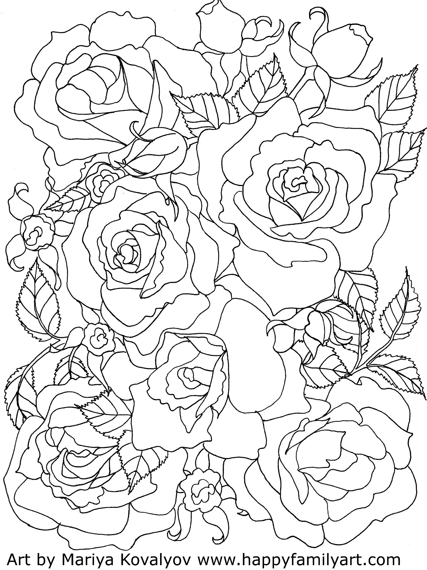 roses coloring roses coloring page coloring page roses coloring