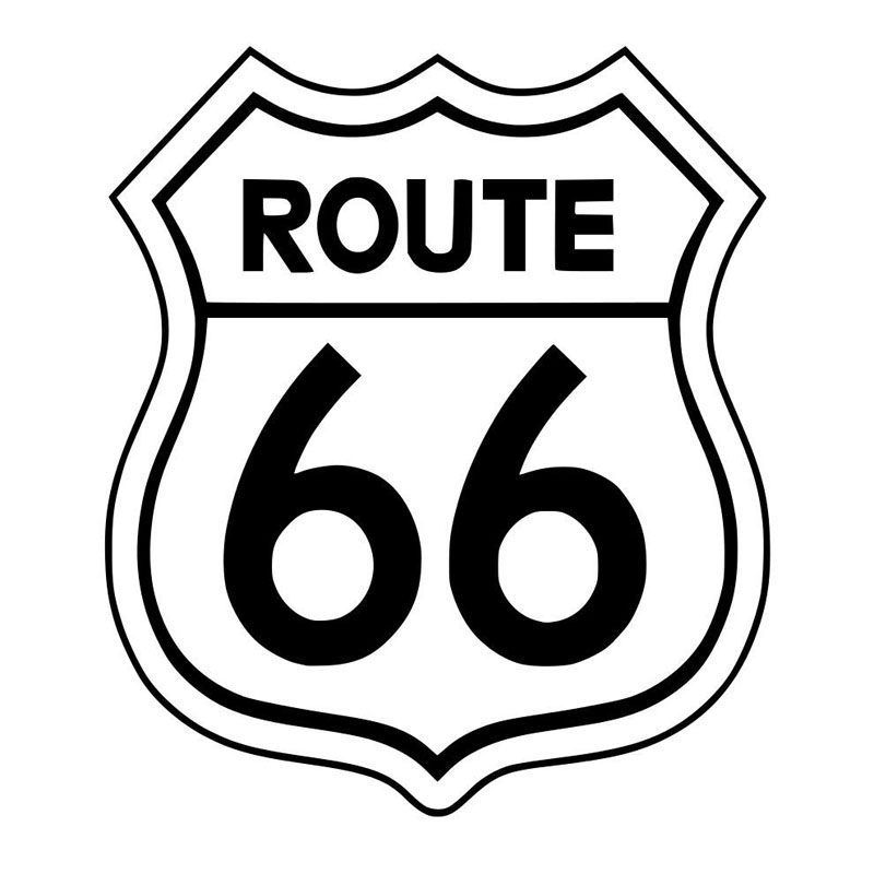 route 66 coloring pages route 66 coloring pages free download on clipartmag 66 route pages coloring