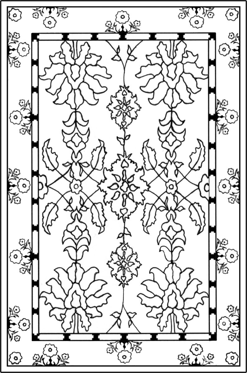 rug coloring page carpet download simple carpets coloring pages prayer rug rug page coloring