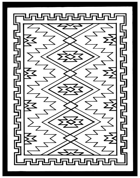rug coloring page fingerpainting genius 84 81011 beautiful free native rug page coloring