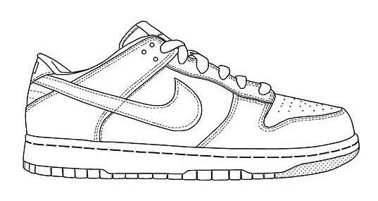 running shoes coloring pages jordan shoes coloring pages free download on clipartmag running shoes pages coloring