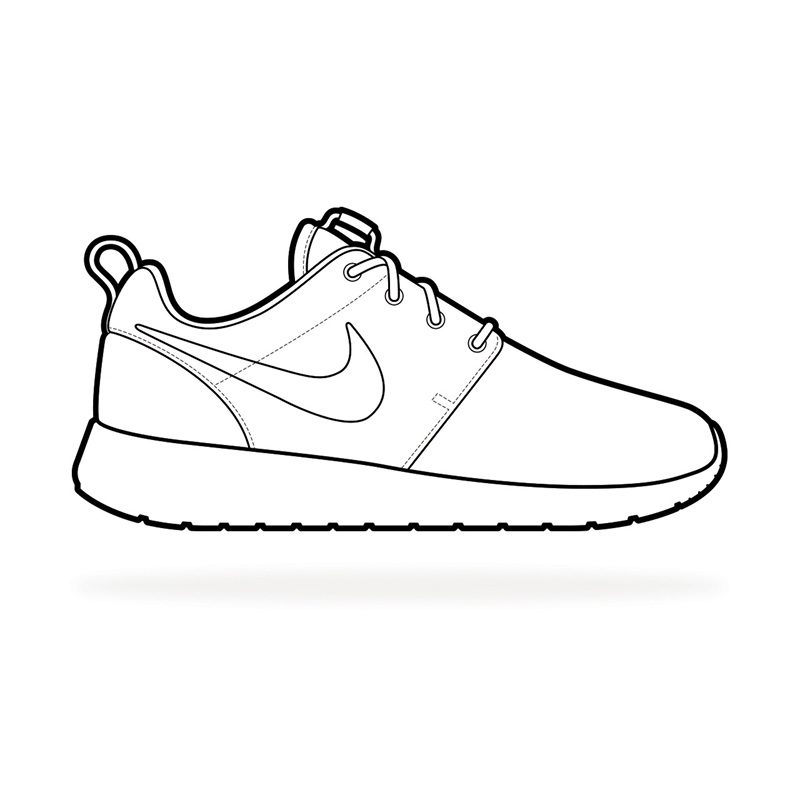 running shoes coloring pages nike shoes coloring and sketch drawing pages sneakers pages running coloring shoes