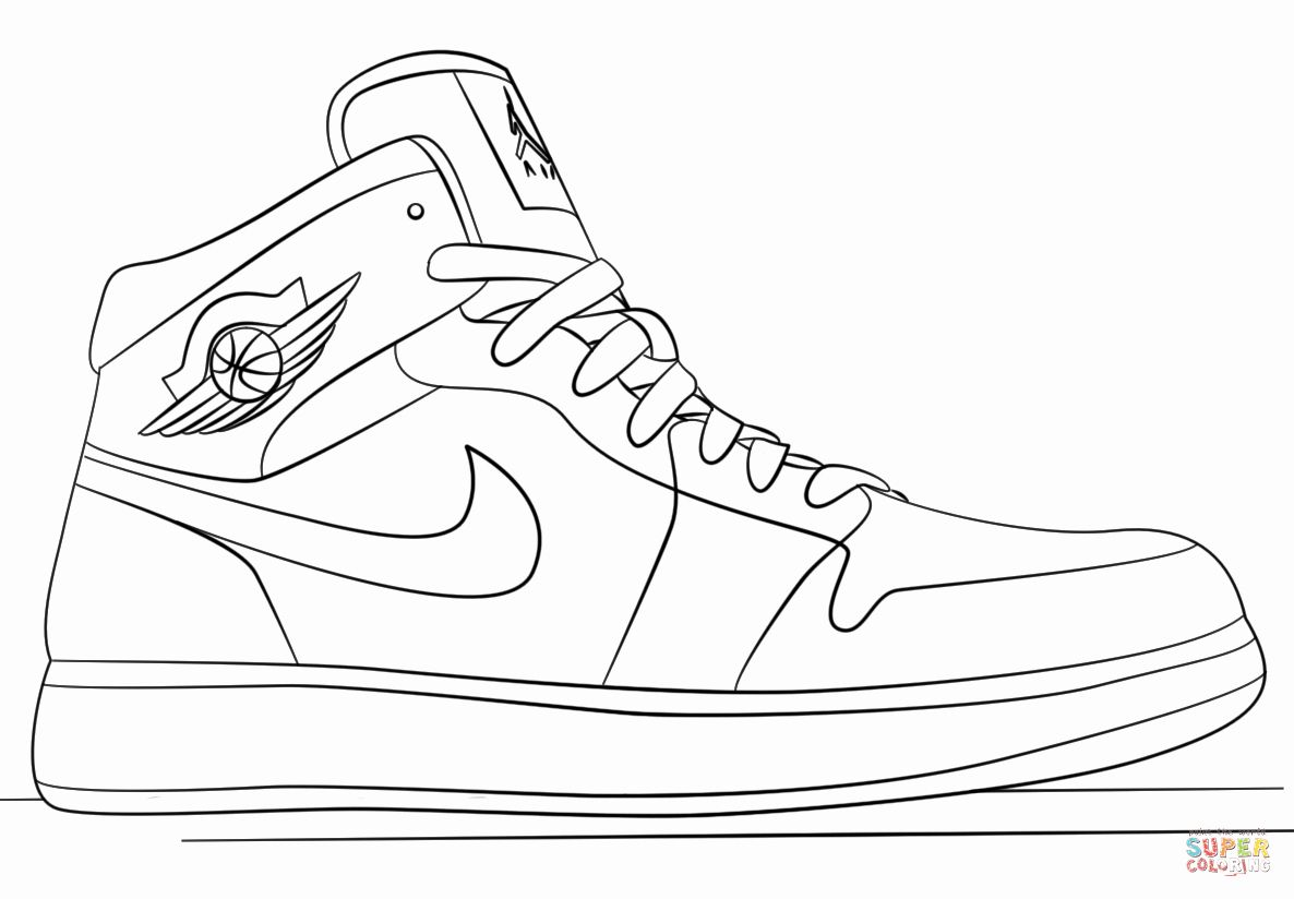 running shoes coloring pages running shoe coloring page at getcoloringscom free coloring shoes pages running