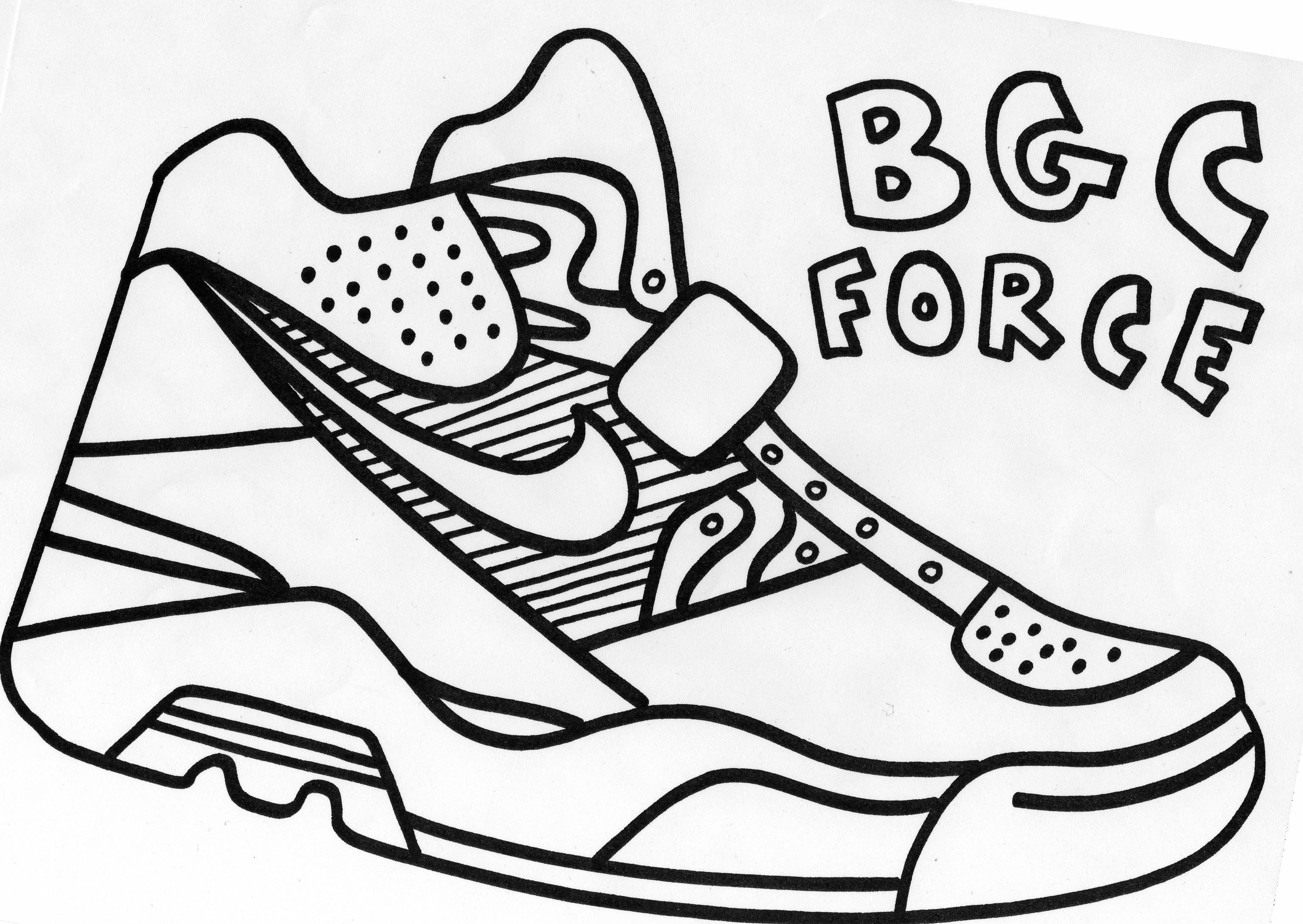running shoes coloring pages vans shoes coloring pages at getcoloringscom free shoes coloring pages running
