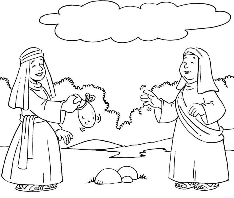 ruth and naomi coloring page boaz and ruth coloring pages coloring home page naomi ruth and coloring